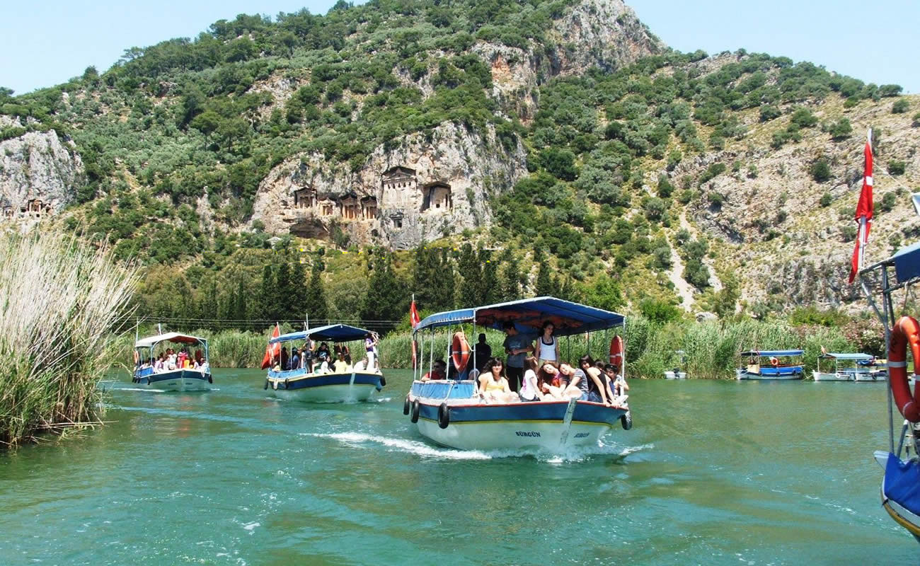 A view from Dalyan & Turtle Beach By Bus