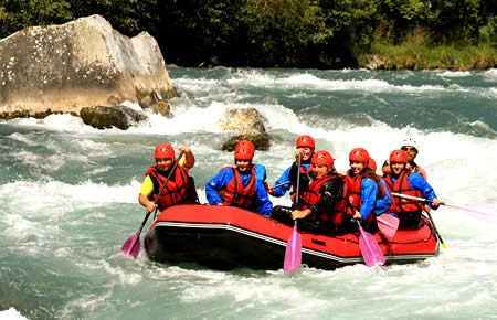 A view from Rafting