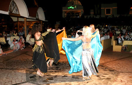 A view from Marmaris Turkish Night