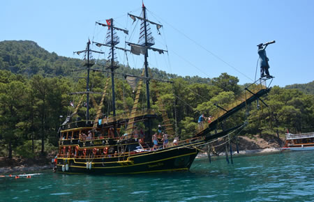 A view from Marmaris Pirate Boat Trip All Inclusive